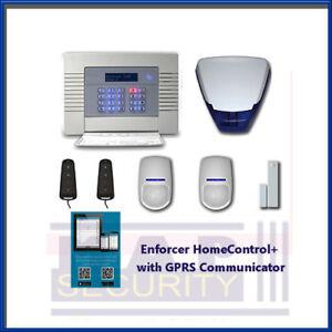 PYRONIX ENFORCER HOME CONTROL+ APP KIT 1 GRPS GRADE 2 ALARM SYSTEM - UK STOCK