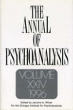 The Annual of Psychoanalysis, V. 24 by Jerome A Winer: Used