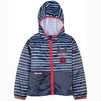 Disney Mickey Mouse Character Girls Boys Light Rain Jacket Coat Shell 2-8 Yrs