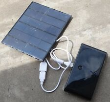 6V 3.5W Solar Panel Charger Phone Bank Power Mobile For Battery Travel
