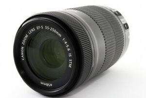 Canon EF-S 55-250mm F/4-5.6 IS STM Lens [Exc From Japan [285]