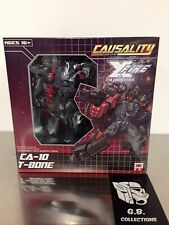 Transformers Fansproject Causality Crossfire T-Bone CA-10 100% Complete