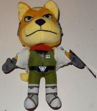 FOX MCCLOUD PLUSH Star fox Nintendo Video Game Merchandise Starfox
