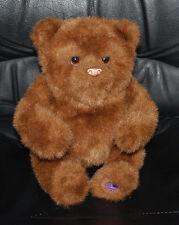 "FurReal Friends Animated Teddy Bear Luv Cub Hasbro Tiger Electronics Brown 10"""