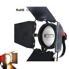 Atenuador construido en luz continua video Studio 800 W cabeza roja iluminación de tungsteno SP