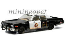 GREENLIGHT 86421 BLUES BROTHERS BLUESMOBILE 1974 74 DODGE MONACO 1/43 BLACK