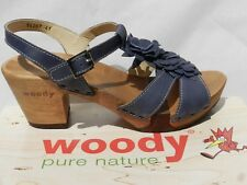 Clogs Woody Shoes Sarah Chaussures Femme 41 Sandales Sabots Escarpins UK8 Neuf