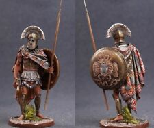 Tin toy soldiers ELITE painted 54 mm  Greek Warrior with Spear