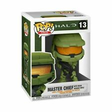 HALO INFINITE MASTER CHIEF WITH MA40 ASSAULT RIFLE- FUNKO POP 13 BRAND NEW