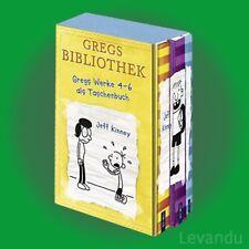 GREGS TAGEBUCH 4-6 | JEFF KINNEY | Band 4+5+6 als Taschenbuch im Schuber - NEU
