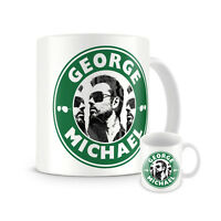 REMEMBER GEORGE MICHAEL STARBUCKS STYLE TRIBUTE MUG CUP GIFT PRESENT MEMORABILIA