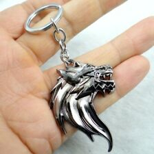 Fashion Creative Key Chain Ring Wolf Keyring Keychain Free Shipping
