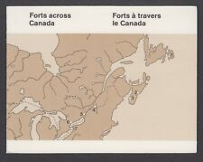 CANADA BOOKLET BK87 10 x 34c FORTS OF CANADA 1985