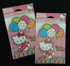 Hello Kitty Birthday Party - 16 Invitations & Envelopes - Made in USA