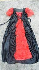 Halloween Dress Girls Costume Victorian Vampire