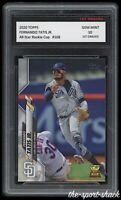 🌟2020 Fernando Tatis Jr Topps Rookie Cup 1st Graded 10 San Diego Padres RC Card
