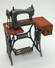 Adorable Mini Sewing Machine Singer 18 Class with Treadle