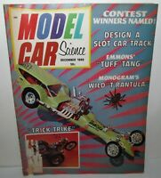 Model Car Science Magazine, December 1968, 1/32 Cox Mod, TJet Buick to Chevelle