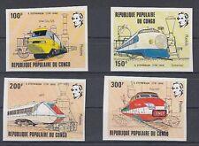 D. Eisenbahn - Lokomotiven  Kongo  855 - 58 U  **  (mnh)