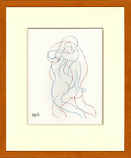 Pablo Picasso 1952 Lithograph, Plate 10, from Picasso Dessins, 1st Edition
