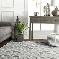Clearance! Silver Grey Rug Runner Diamond Trellis Hallway Runners Carpet 80x400