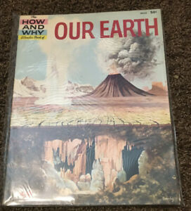 The How and Why Wonder Book of OUR EARTH 1960 Homeschool Crafts 5010 Geology