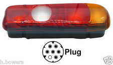 REAR TAIL LAMP LIGHT UNIT MITSUBISHI CANTER / FUSO FITS RIGHT HAND R/H OFFSIDE