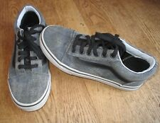 *VANS* Neuwertige Sneaker, hellgrau meliert, Gr.35/UK3