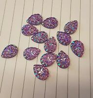 18mm sew on stich on Pink AB JEWEL GEM CRYSTAL RHINESTONE peacock DANCE