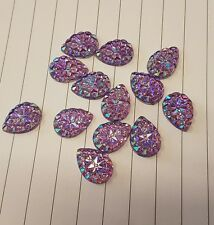 Lilac ab Sew On Stitch Jewel 18mm GEM CRYSTAL RHINESTONE trim Bead