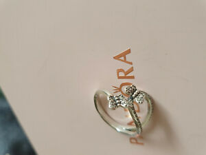 Pandora Ring Silber Schmetterlinge 60