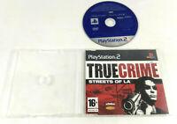Jeu PS2 Demo Disc Promo  True Crime Streets of LA  Envoi rapide et suivi