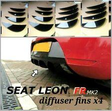 seat leon fr diffuser fins/cupra fr diffuser/seat leon fr mk2 diffuser fins FR..