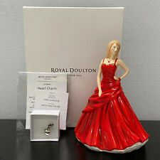 "Royal Doulton Charms Heart 6.75"" Figurine Bone China Hn5739"