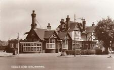 Thomas A Becket Hotel Worthing unused deckle edge RP old pc Wardell