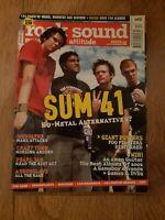 ROCK SOUND MAGAZINE ( 43 ) DEC 2002 SUM 41 LOSTPROPHETS PEARL JAM AUDIOSLAVE