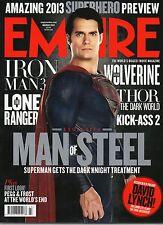 Empire 285    Superman Man Of Steel    Leslie Mann   Judd Apatow   David Lynch