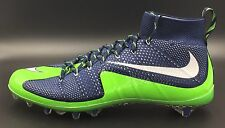 Nike Vapor Untouchable Football Cleats Blue Green 707455 429 Men's 15 New