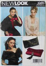 New Look 6426 Misses Bolero Jackets Wrap Purses Bags  Sewing Pattern Sz XS-XL