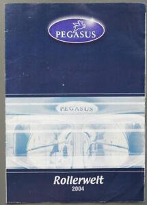 Prospekt Motorrad Pegasus Motorroller 2004