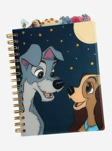 Disney's Lady & the Tramp Tabbed Journal, NEW