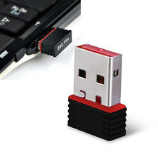 150M Mini USB Tarjeta inalámbrica Transmisor señal WiFi / receptor Adaptador USB