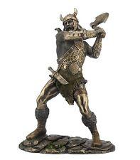 "11.25"" Norse Viking w/ Ax Warrior Statue Sculpture Figure Figurine"