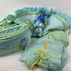 2004 CARE BEARS BABY SWEET DREAMS 4 Piece Crib Nursery Bedding Set