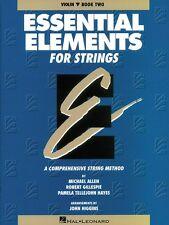 Essential Elements for Strings Book 2 Original Series Violin Book New 000862549