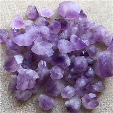 50g Bulk Natural Purple Rough Amethyst Point Gravel Stone Specimen Minerals Rock