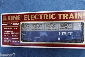 1994 K-Line #K90005 GT Grand Trunk Gondola w/Crates KCC Collector's Club L2659