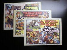 Lot de 3 Cino e Franco 1973 en Italien TBE Lyman Young Nerbini
