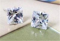 classic elegant diamond stud style crystal earrings