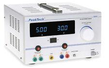 PeakTech 6120 AC/DC Labornetzgerät/Laboratory Power Supply 0 - 30 V/5 A